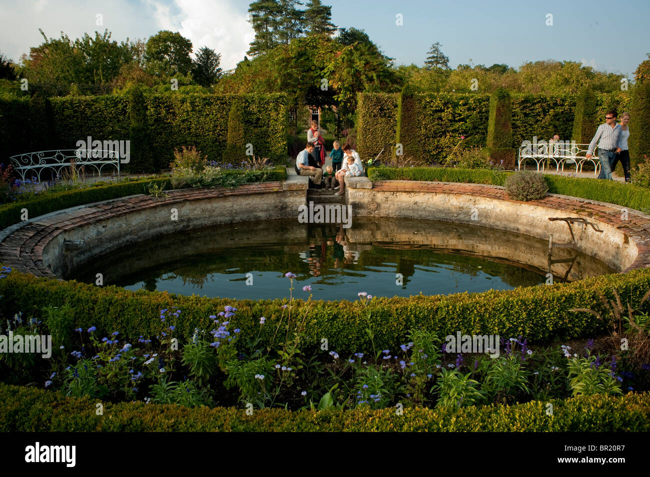 French Gardens General View Stock Photos & French Gardens General ...
