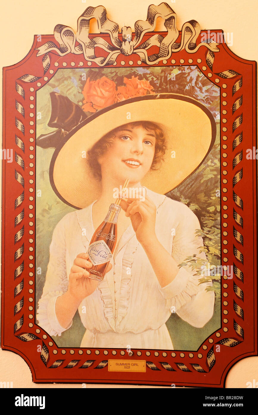 Coca Cola Poster Stock Photos & Coca Cola Poster Stock Images - Alamy