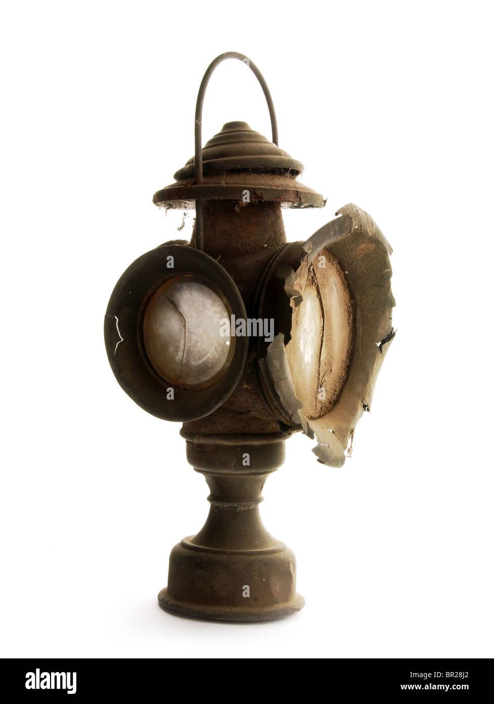 Vintage lantern - Stock Image