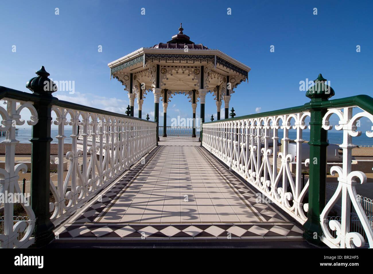 Brighton's restored  bandstand. Brighton, East Sussex, England - Stock Image