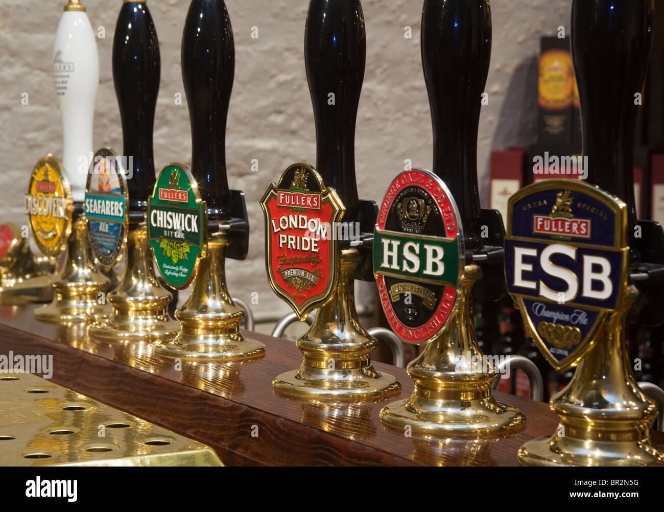 Fullers Griffin Brewery Chiswick London - Stock Image