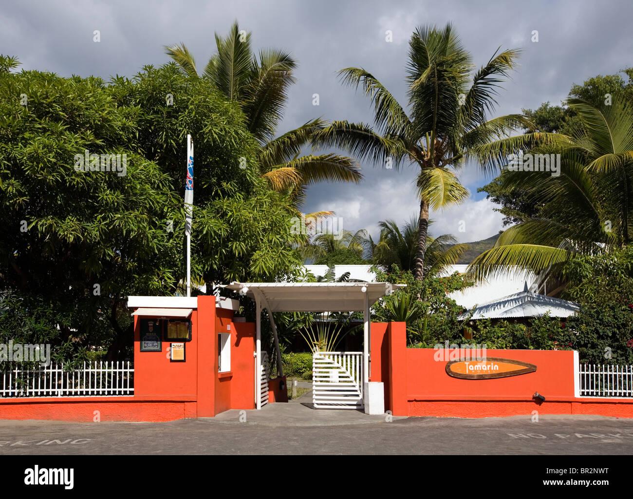 Tamarin Hotel, Tamarin, Mauritius Stock Photo