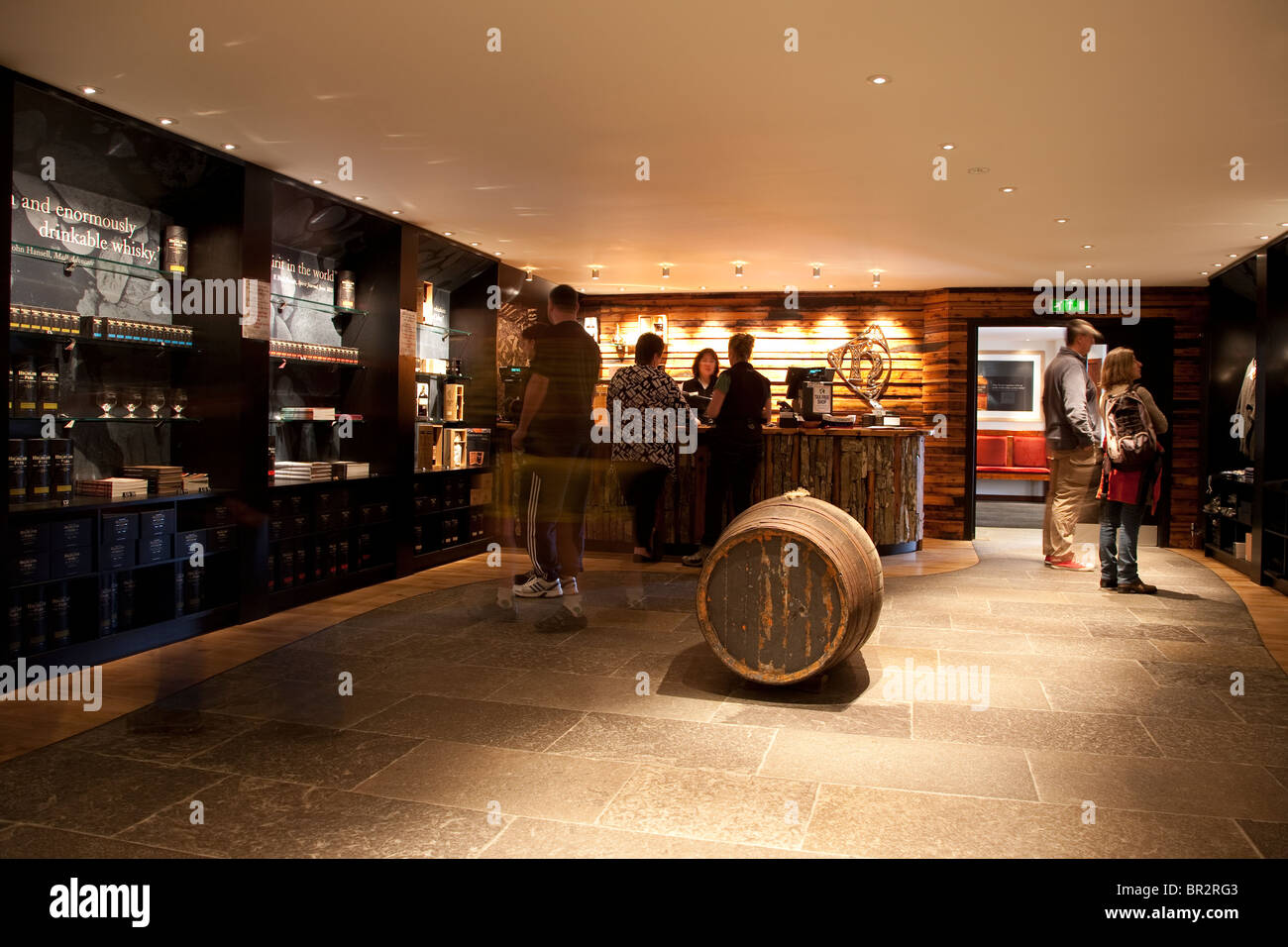 Highland Park Distillery in Kirkwall; Orkney Islands; Scotland - Stock Image