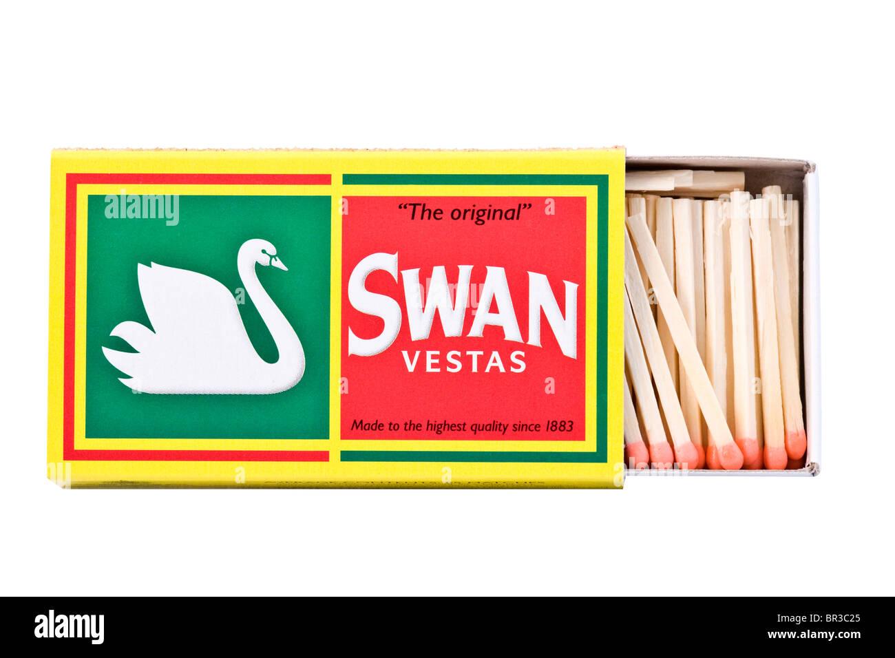 Swan Vesta Matches - Stock Image