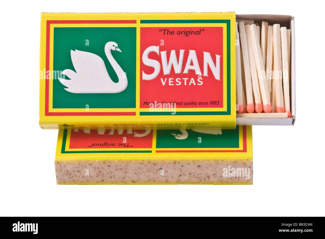 Swan Vesta Matches. - Stock Image