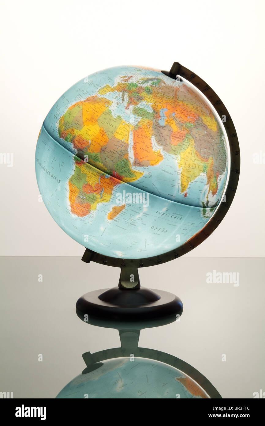 A globe - Stock Image