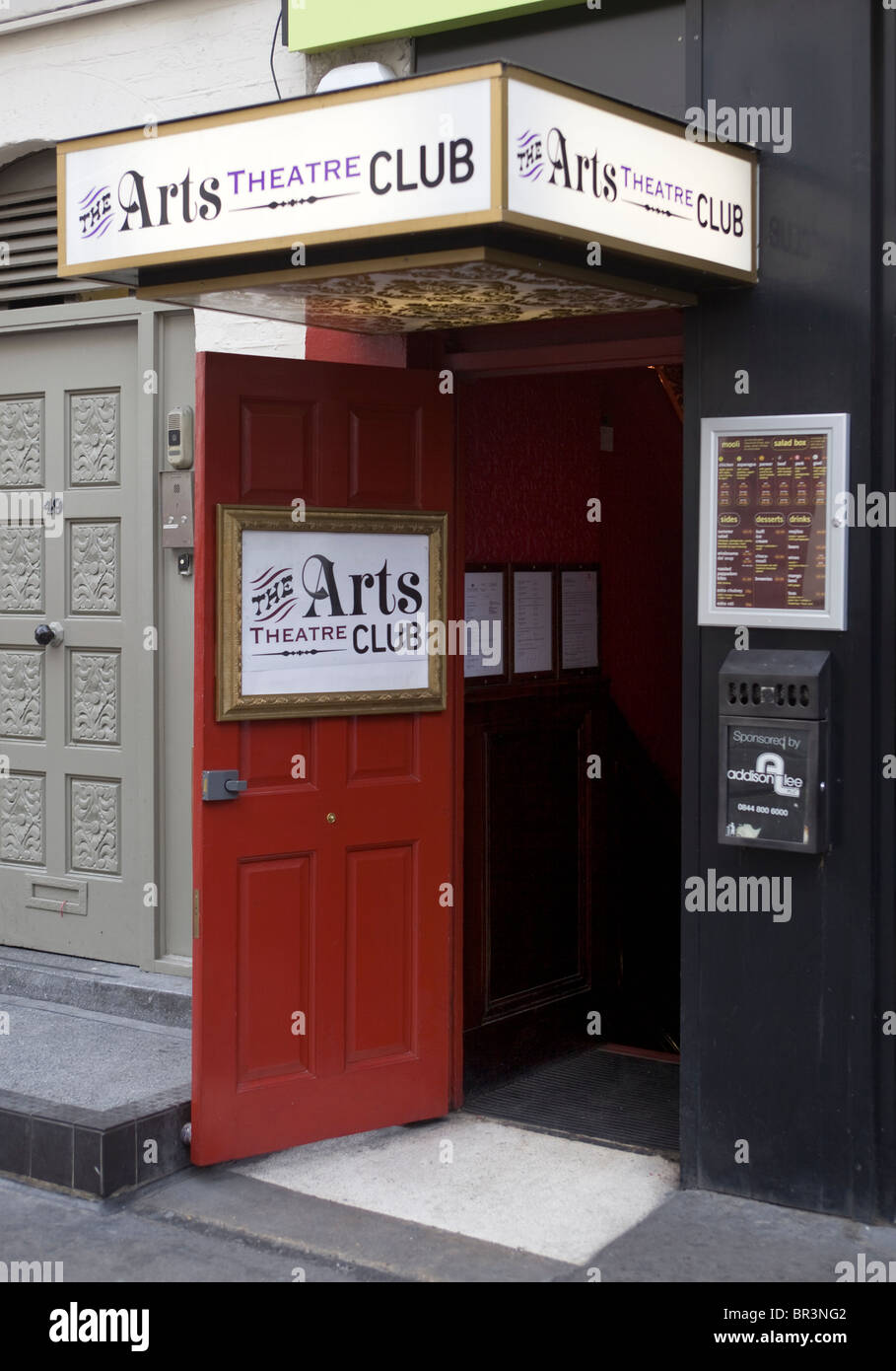 The Arts Theatre Club Soho London - Stock Image