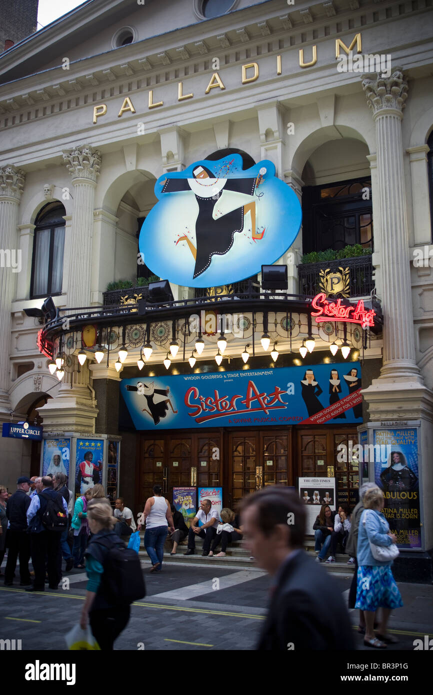 Sister Act at the Palladium Theatre London UK - Stock Image
