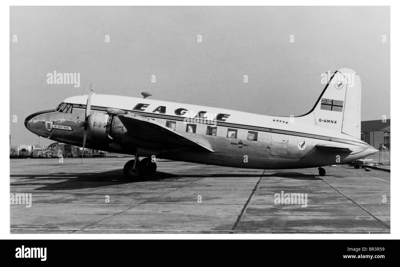 Old Photograph of G-AMNX_Royal Mail _ Vickers-armstrongs (aircraft) Ltd VICKERS VIKING - Stock Image