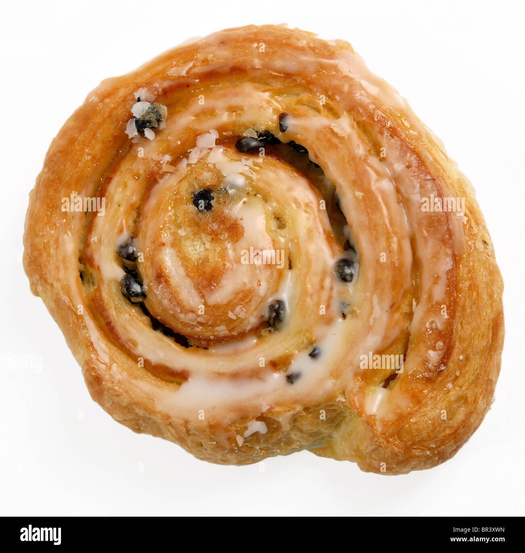One Danish pastry - Stock Image