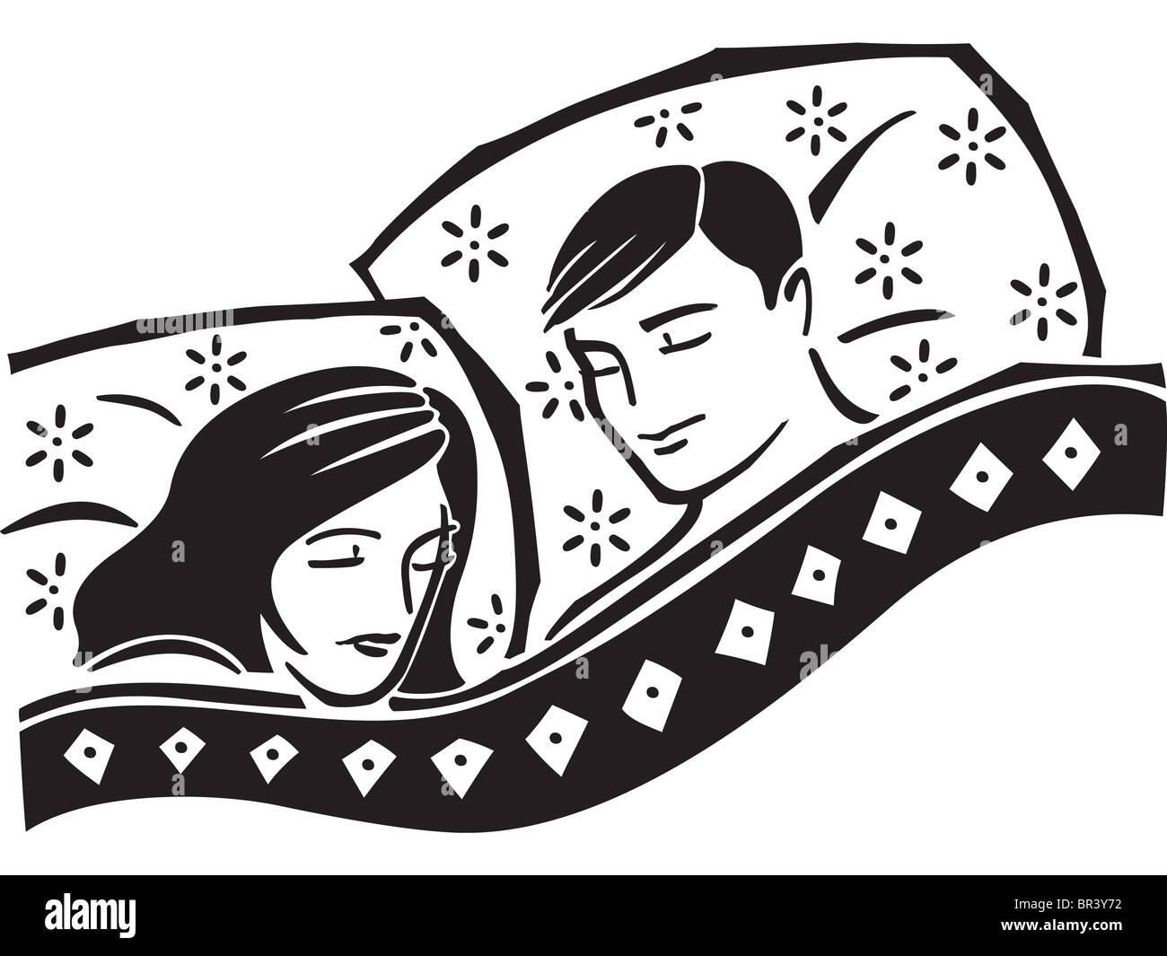 A couple sleeping in bed stock photo 31434678 alamy