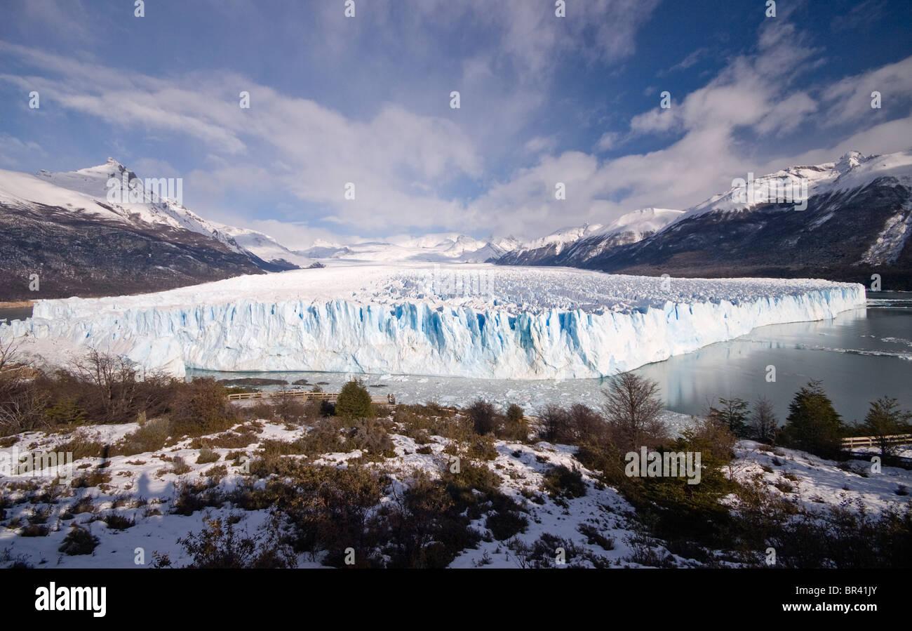 Perito Merino Glacier in Patagonia Argentina - Stock Image
