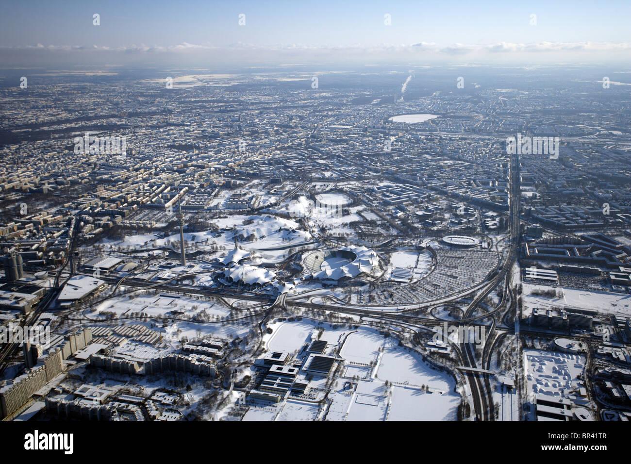 Olympiapark, Germany, Bavaria, Muenchen - Stock Image