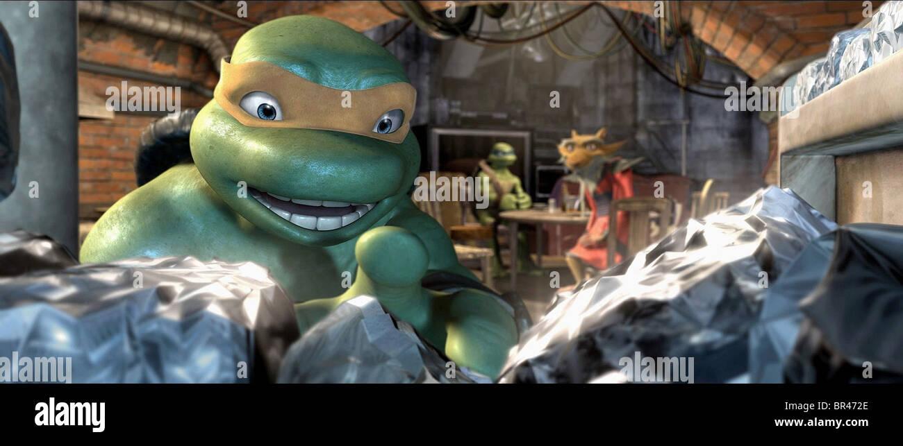 Michelangelo Teenage Mutant Ninja Turtles Tmnt 2007 Stock Photo