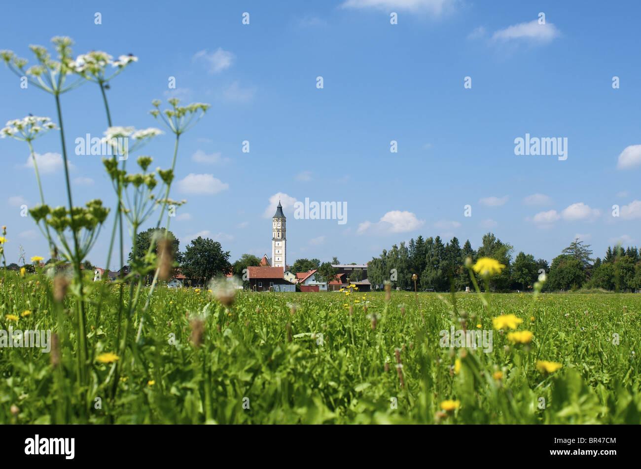 Bad Woerishofen, Schwaben, Bavaria, Germany, Europe Stock Photo