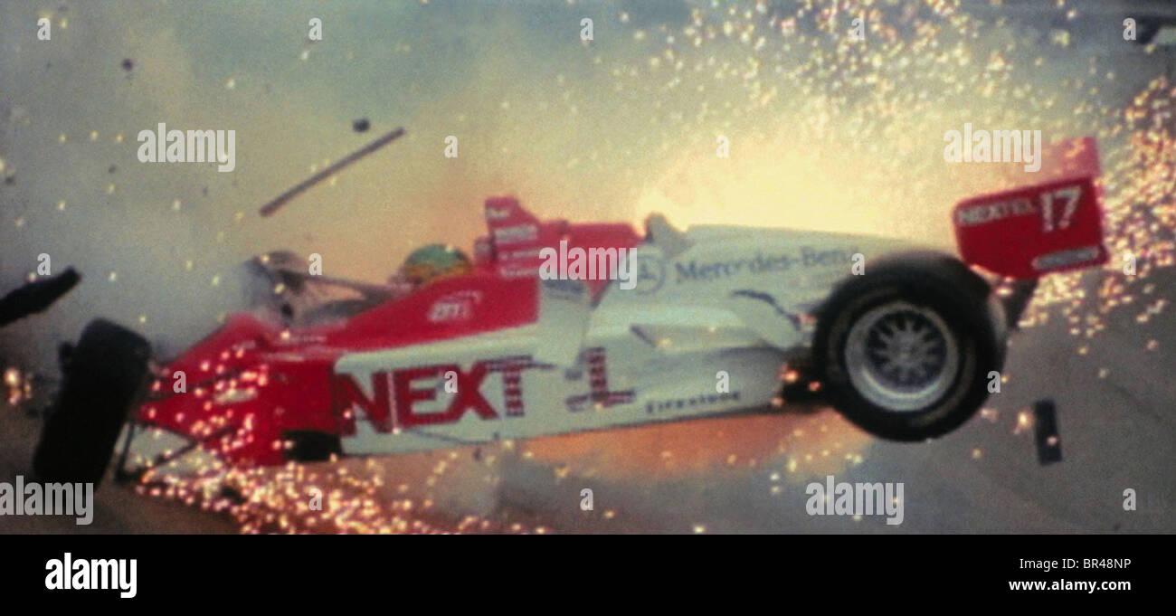 CRASH SCENE DRIVEN (2001) - Stock Image