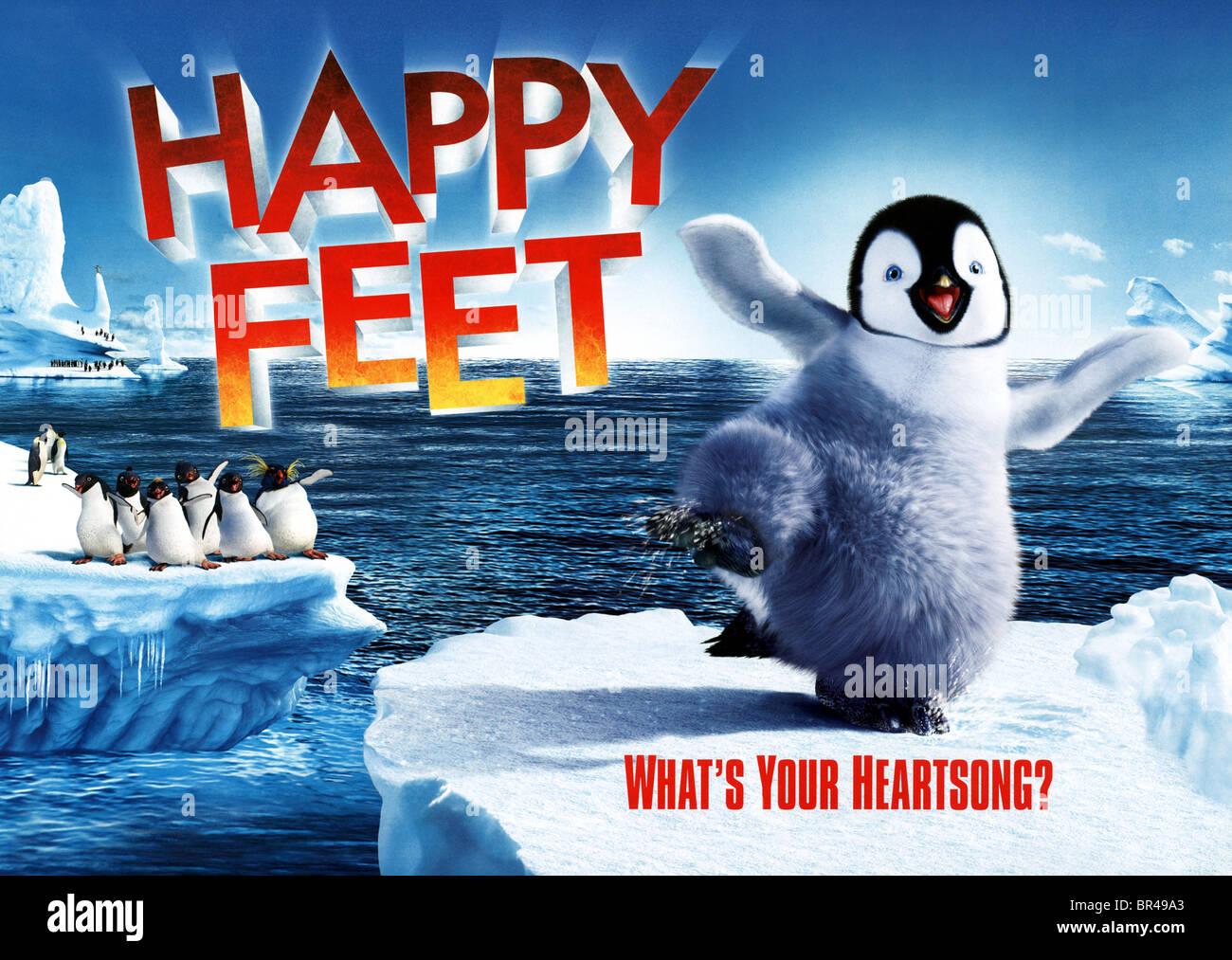 Mumble The Penguin Poster Happy Feet 2006 Stock Photo Alamy