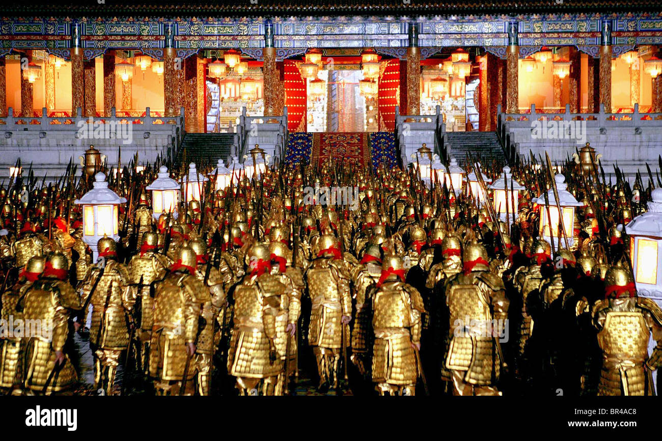 WARRIORS CHARGE THE PALACE CURSE OF THE GOLDEN FLOWER; MAN CHENG JIN DAI HUANG JIN JIA; AUTUMN REMEMBRANCE; THE - Stock Image