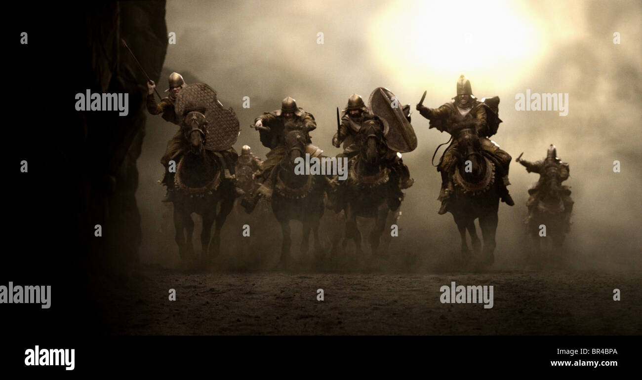PERSIAN CAVALRY 300 (2006) - Stock Image
