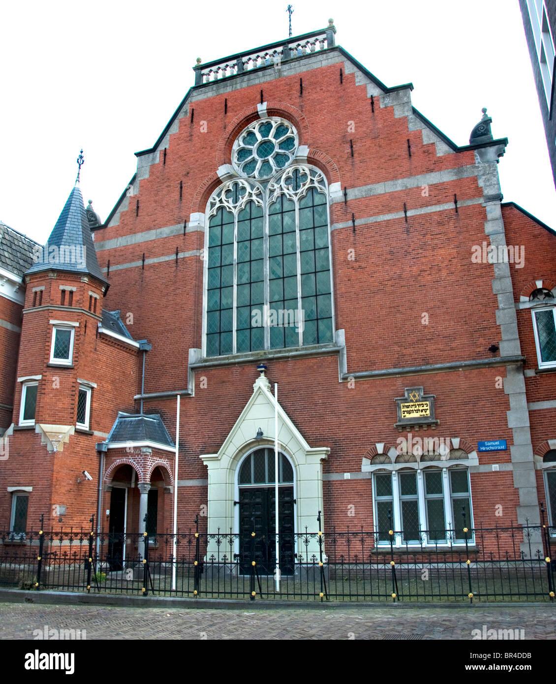 Zwolle Synagogue Netherlands Overijssel Jew jewish - Stock Image