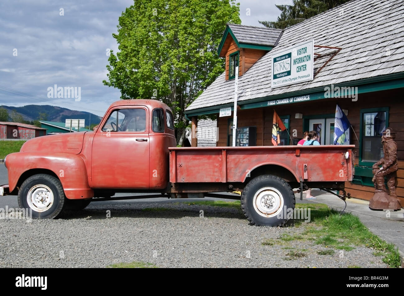 Bellas Red Truck From The Stephanie Meyers Twilight