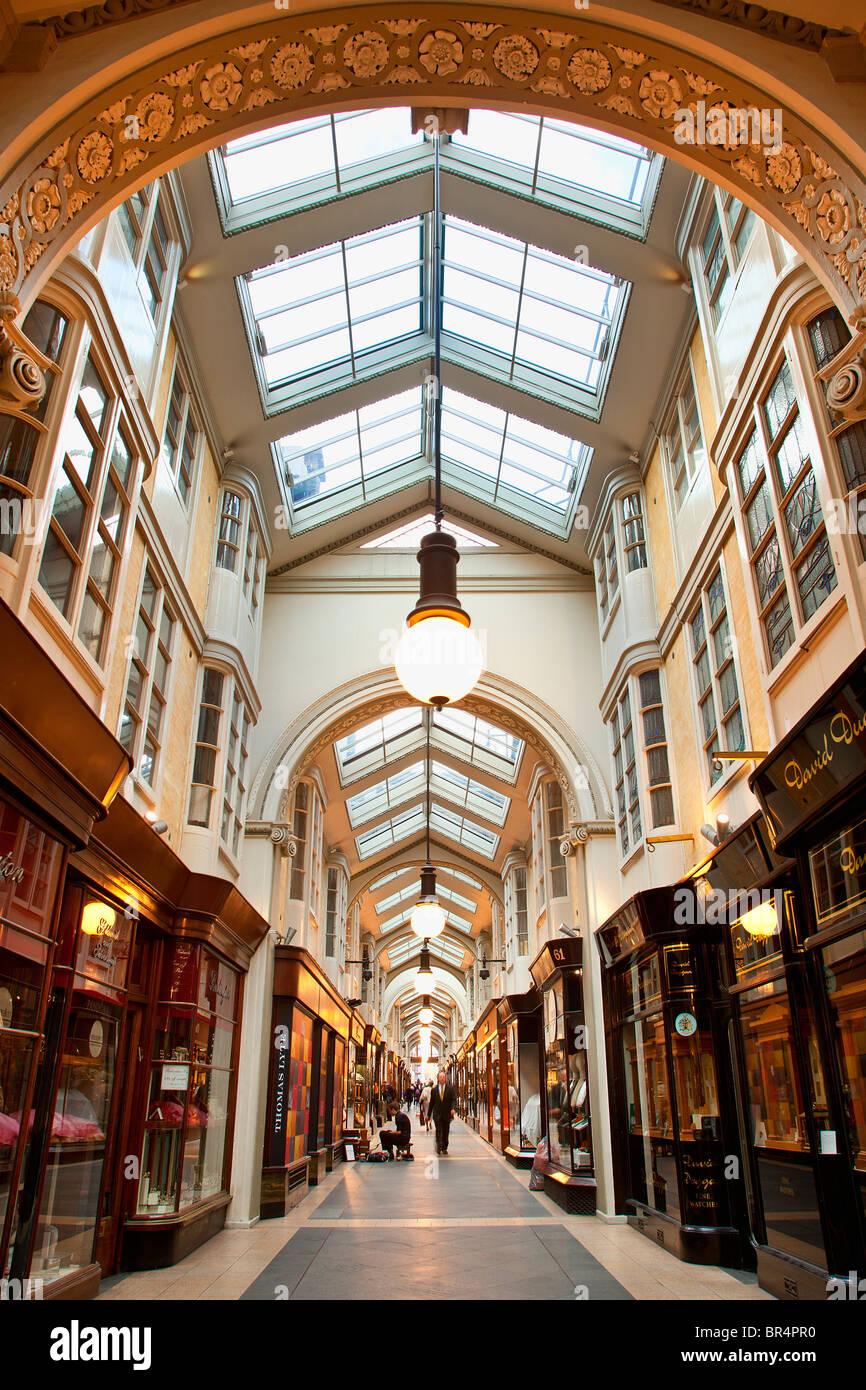 Europe, United Kingdom, England, London, Mayfair district, Burlington Arcade - Stock Image