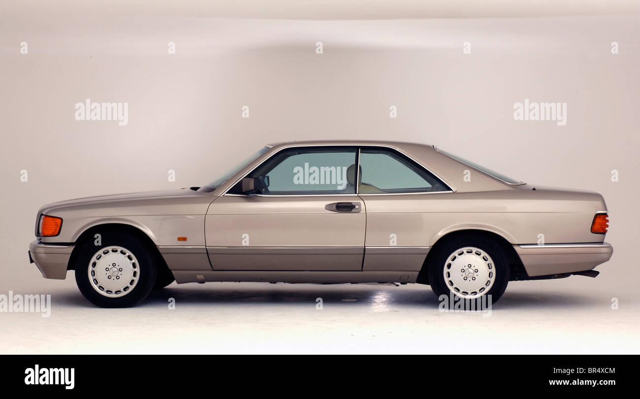 1990 Mercedes Benz 560 SEC - Stock Image