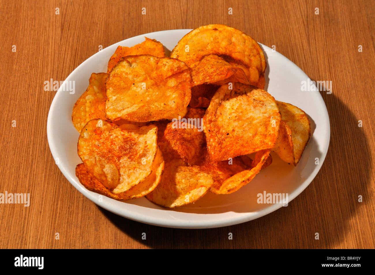 Potato Chips of South India - Stock Image