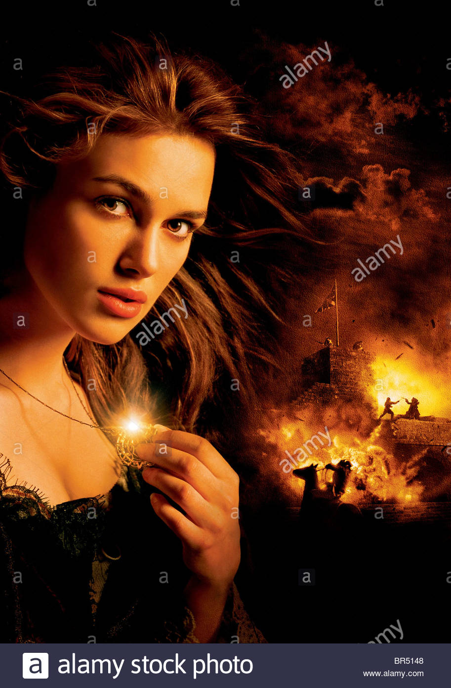 Keira Knightley Pirates Of The Caribbean The Curse Of The Black Stock Photo Alamy