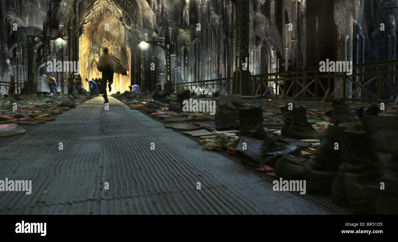 ZION THE MATRIX RELOADED (2003) - Stock Image