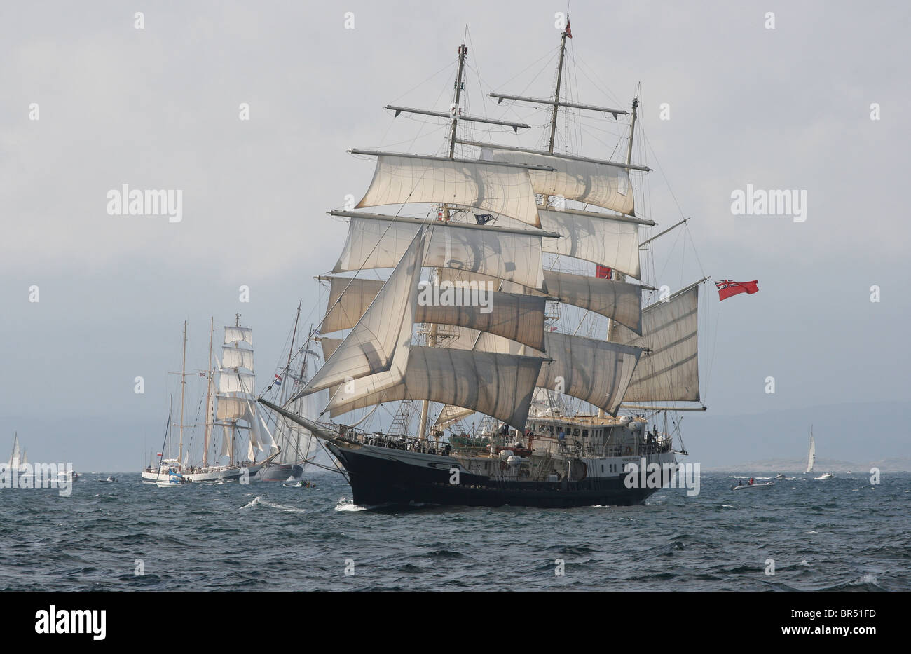 Tenacious, The Tall Ships Races 2010, Kristiansand - Stock Image