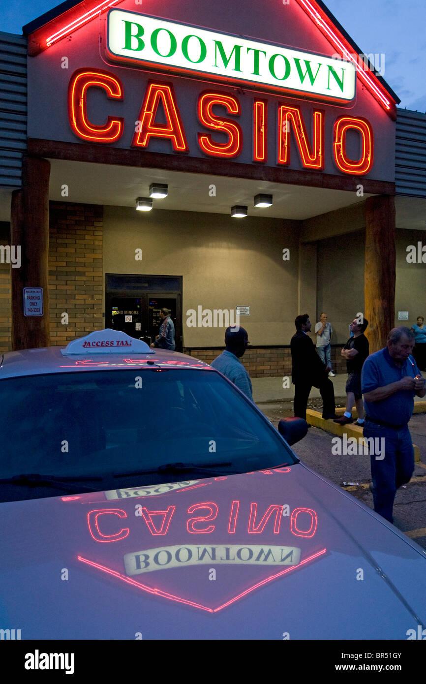 Boomtown Casino Alberta Canada - Stock Image