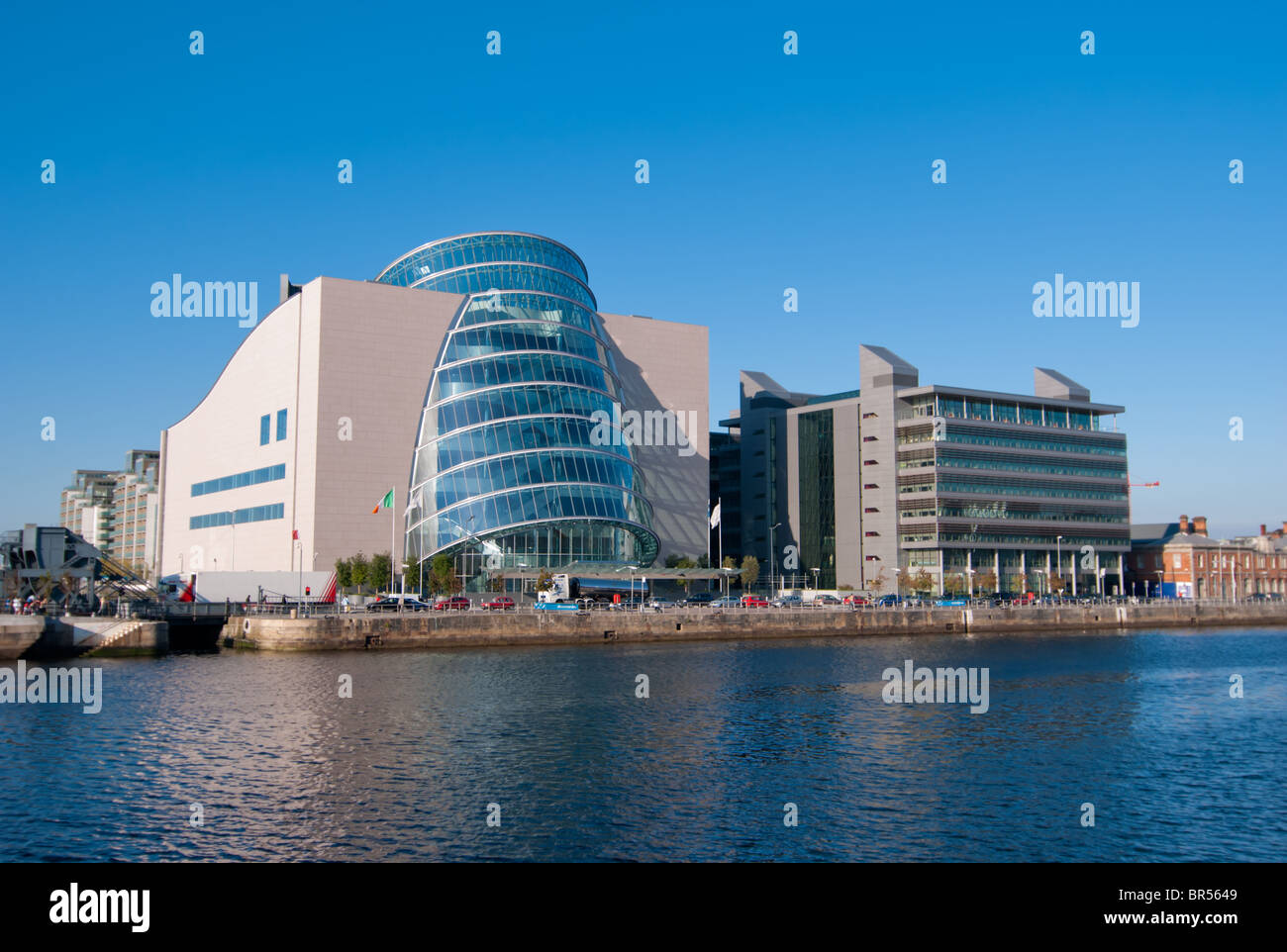 Convention Center Dublin - Stock Image