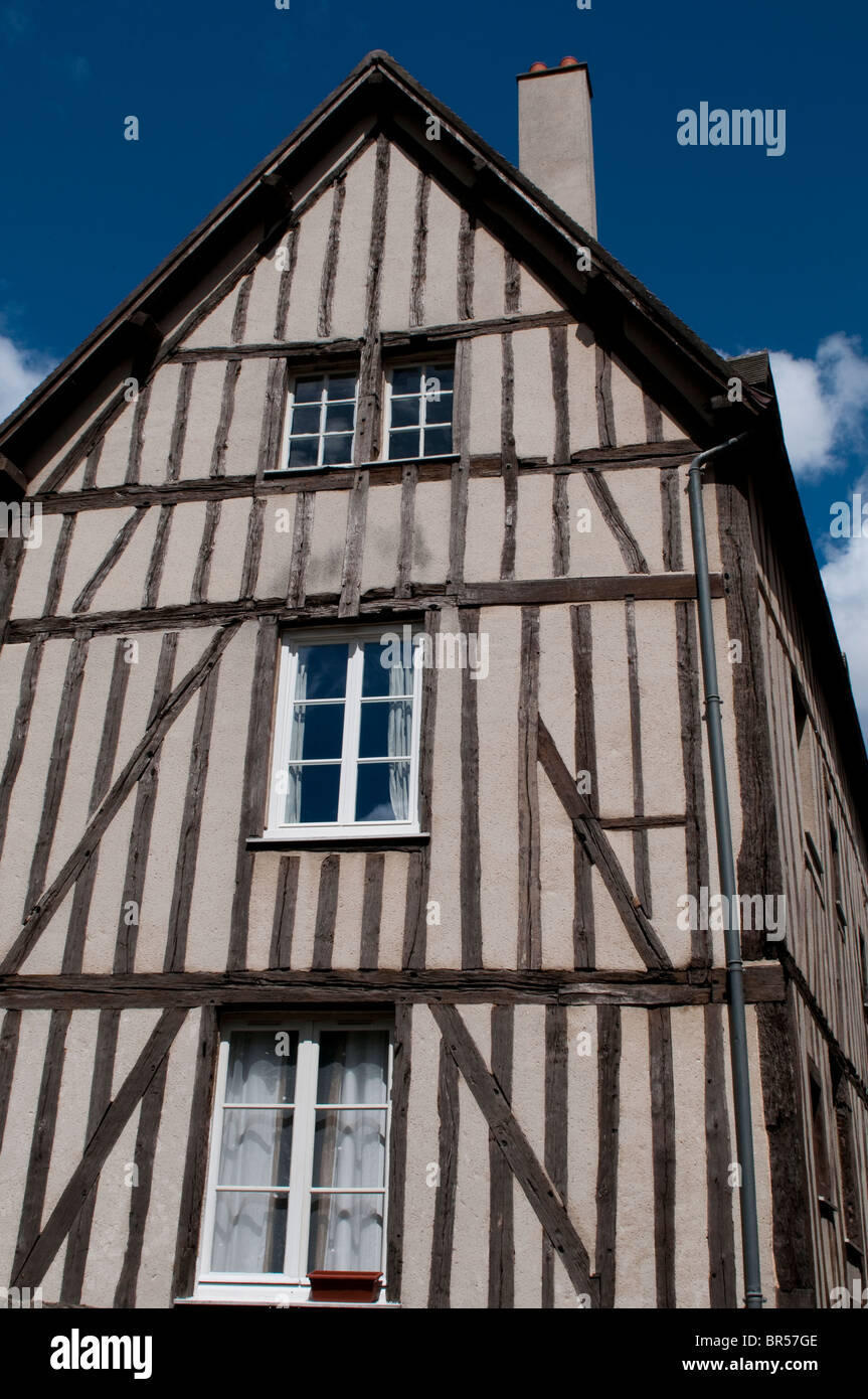 Gothic House With Exposed Beams Chartres France