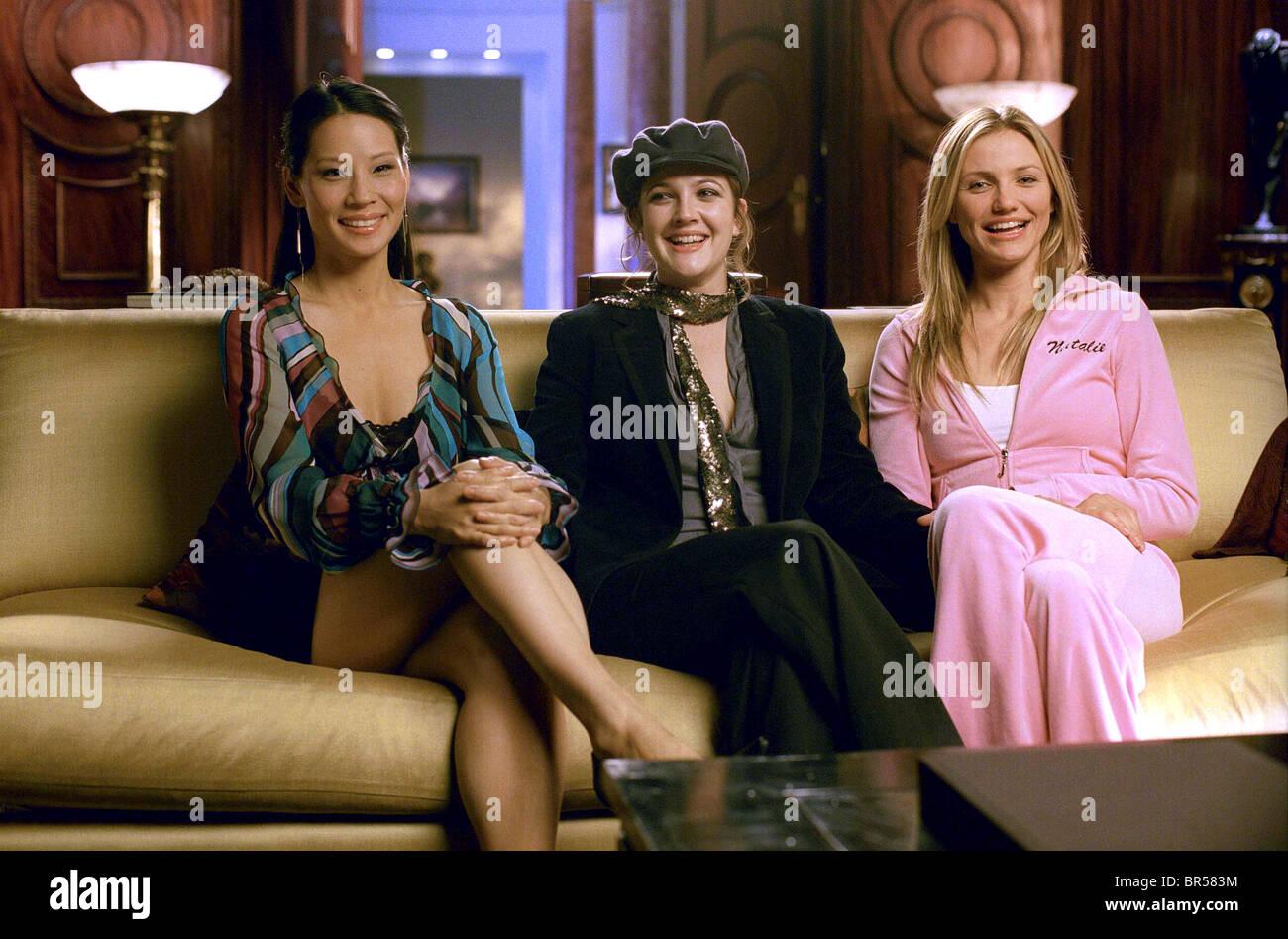 Lucy Liu Drew Barrymore Cameron Diaz Charlie S Angels Full Stock Photo Alamy