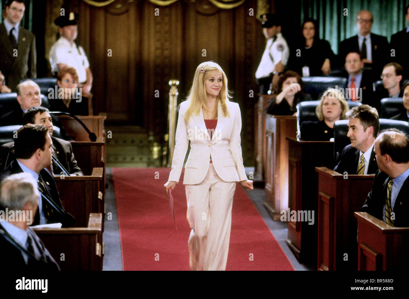 REESE WITHERSPOON LEGALLY BLONDE 2: RED WHITE & BLONDE (2003) - Stock Image