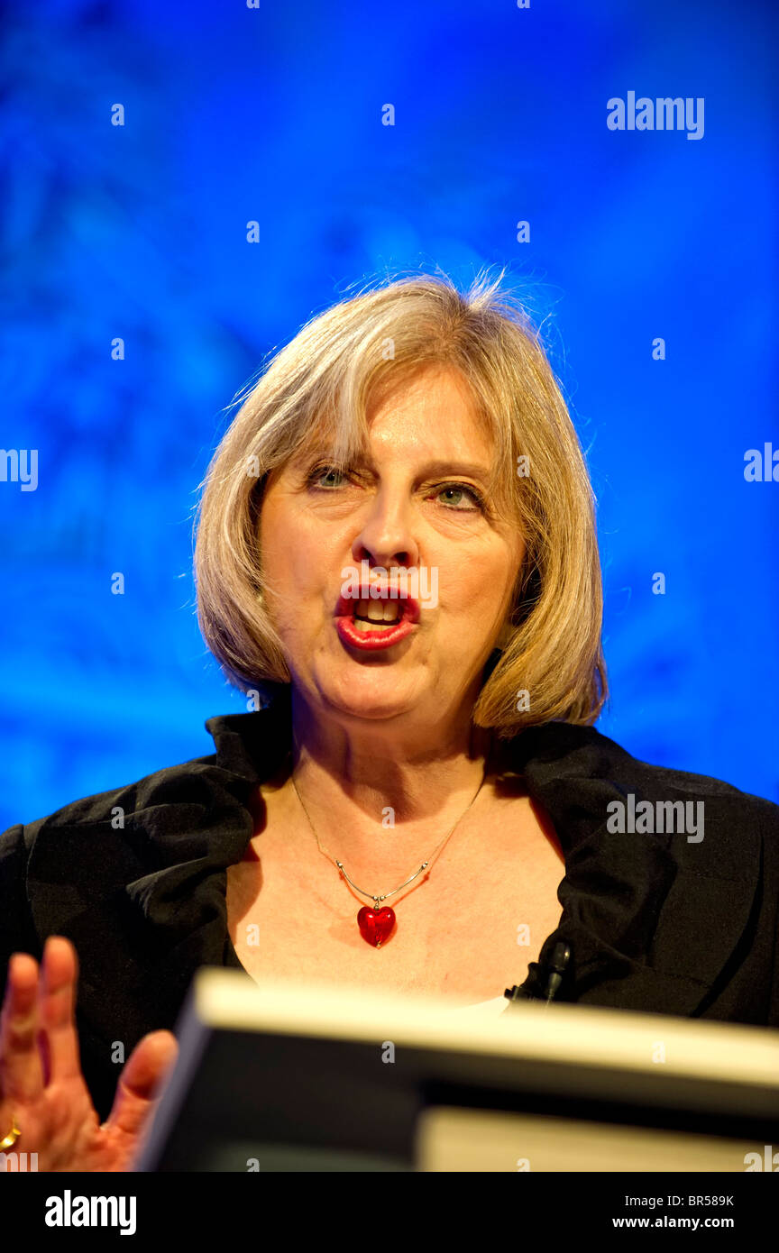 UK Prime Minister, Theresa May MP - Stock Image