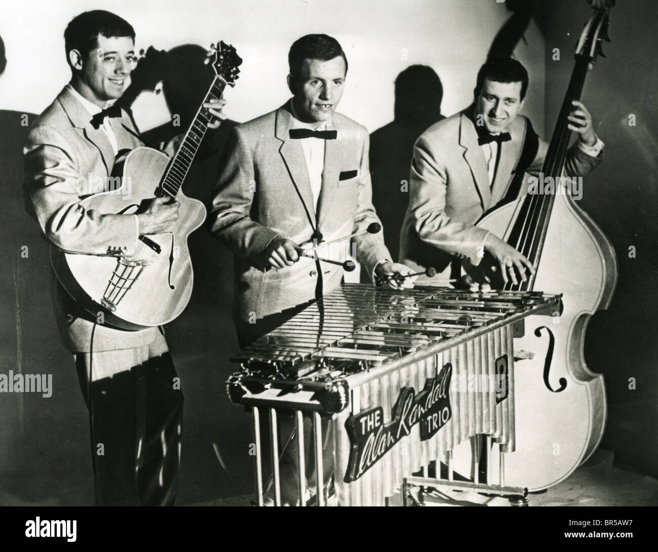 ALAN RANDALL TRIO about 1955 with Randall on vibraphone - Stock Image