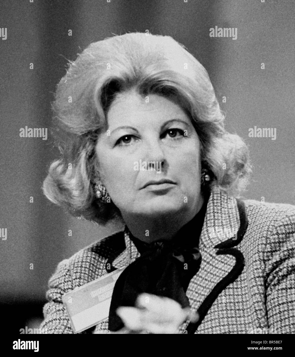 Sally Oppenheim-Barnes, Baroness Oppenheim-Barnes PC  Pictured in 1979 - Stock Image
