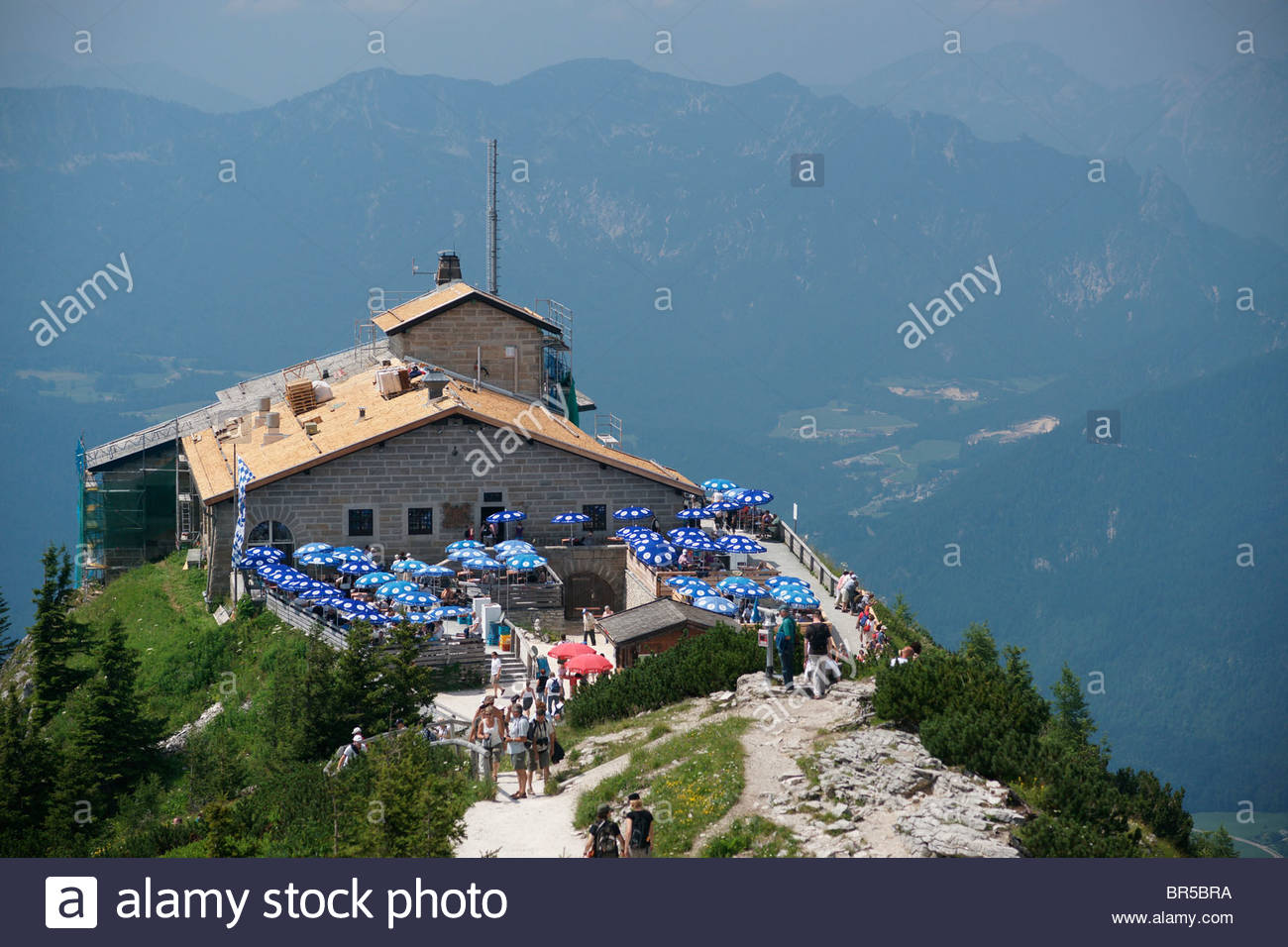 views from adolf hilter mountain top home in the bavarian alps stock photo 31466494 alamy. Black Bedroom Furniture Sets. Home Design Ideas