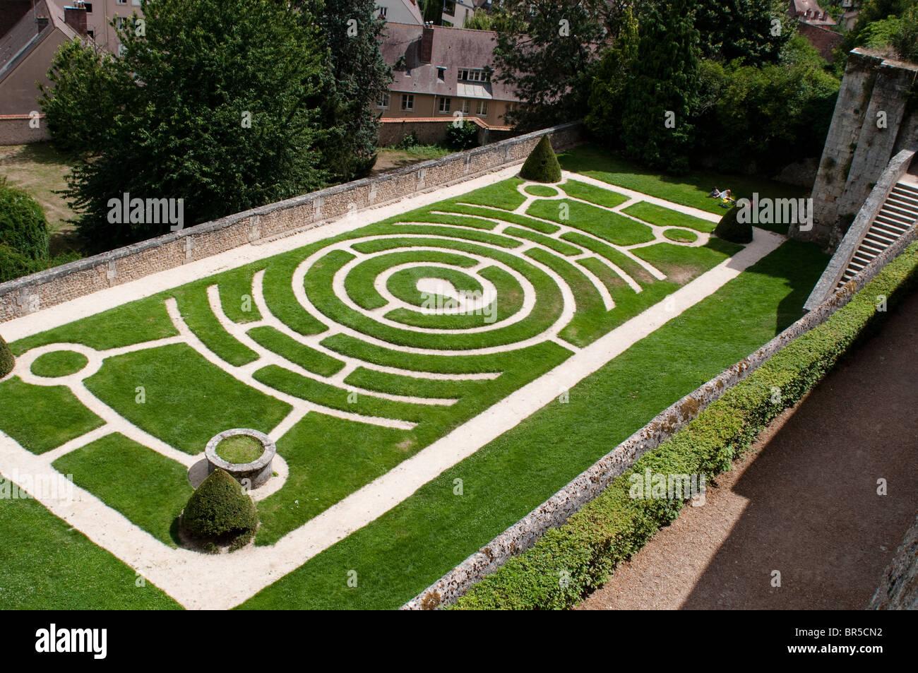 Flower Garden Designs Labyrinth Html on