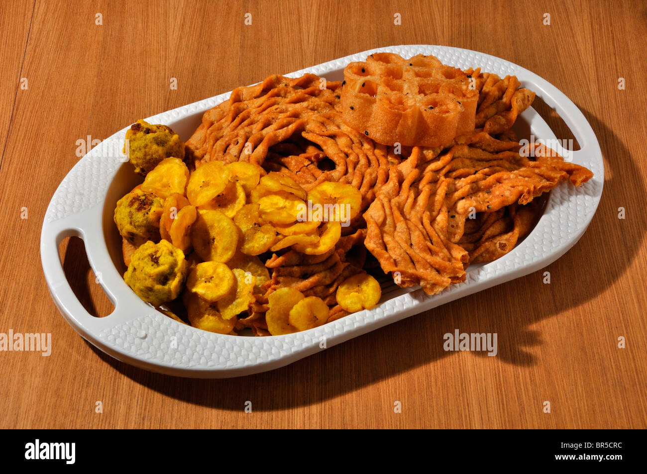 Snacks of South India - Stock Image