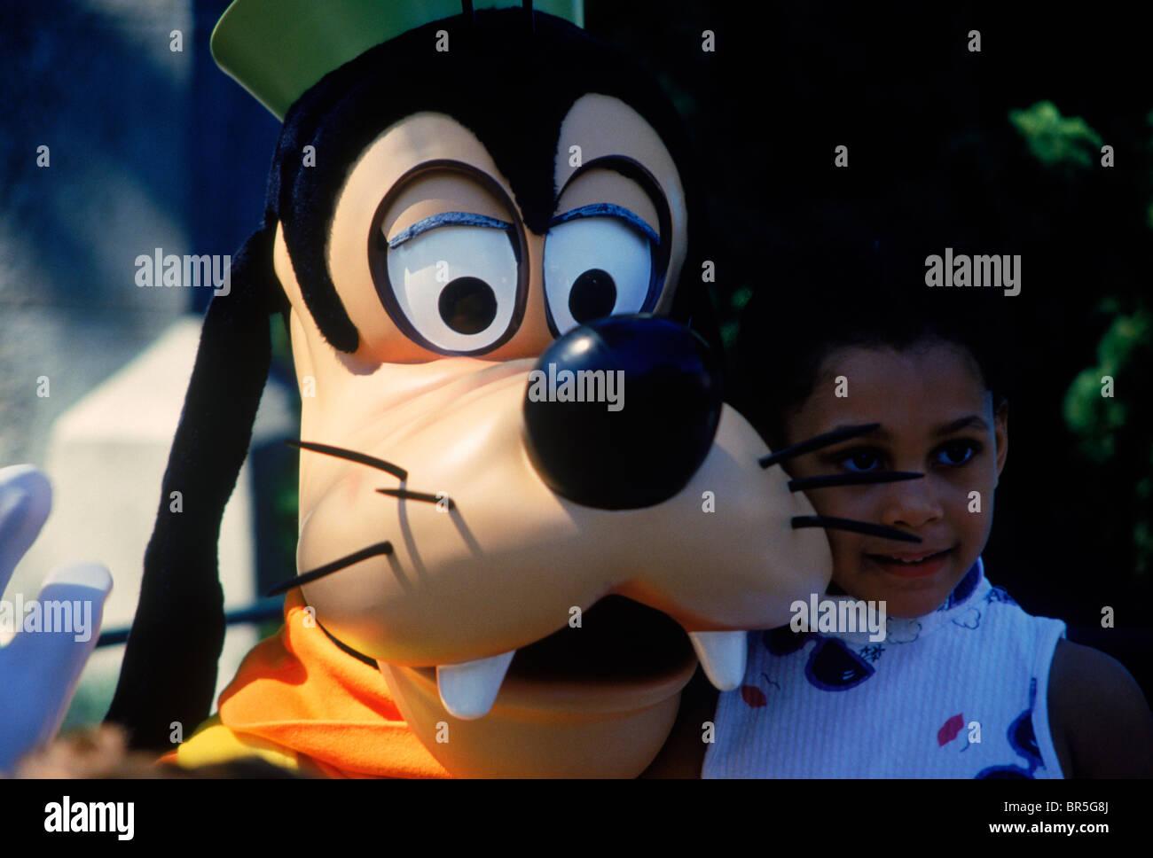 Goofy at Disney World Orlando Florida - Stock Image