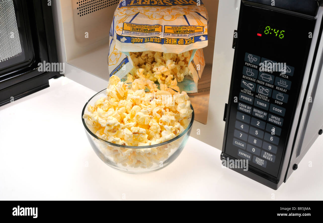 Can i do microwave popcorn in the oven