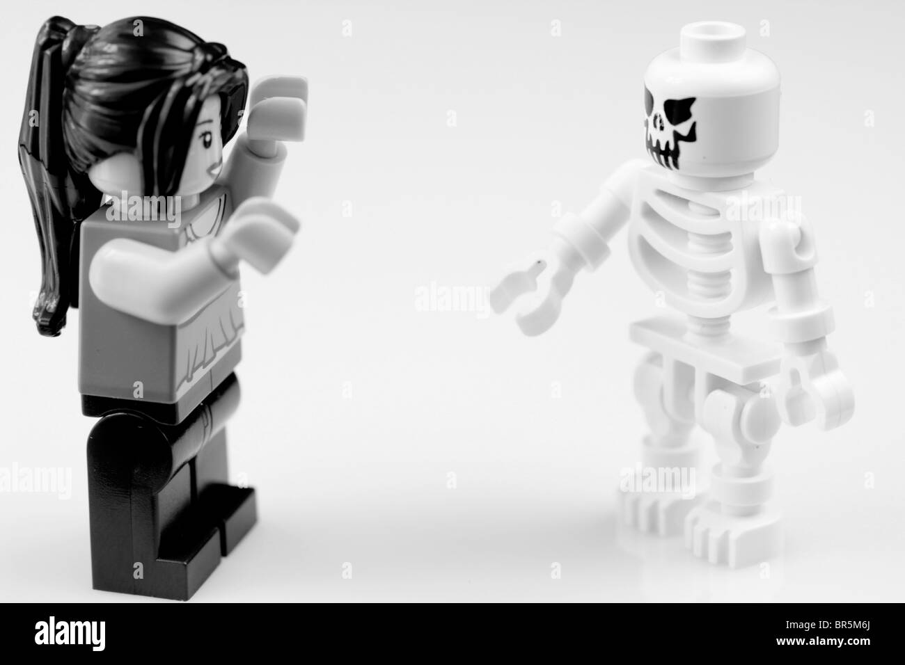 """Drop dead gorgeous."" They call it Lego love. Stock Photo"
