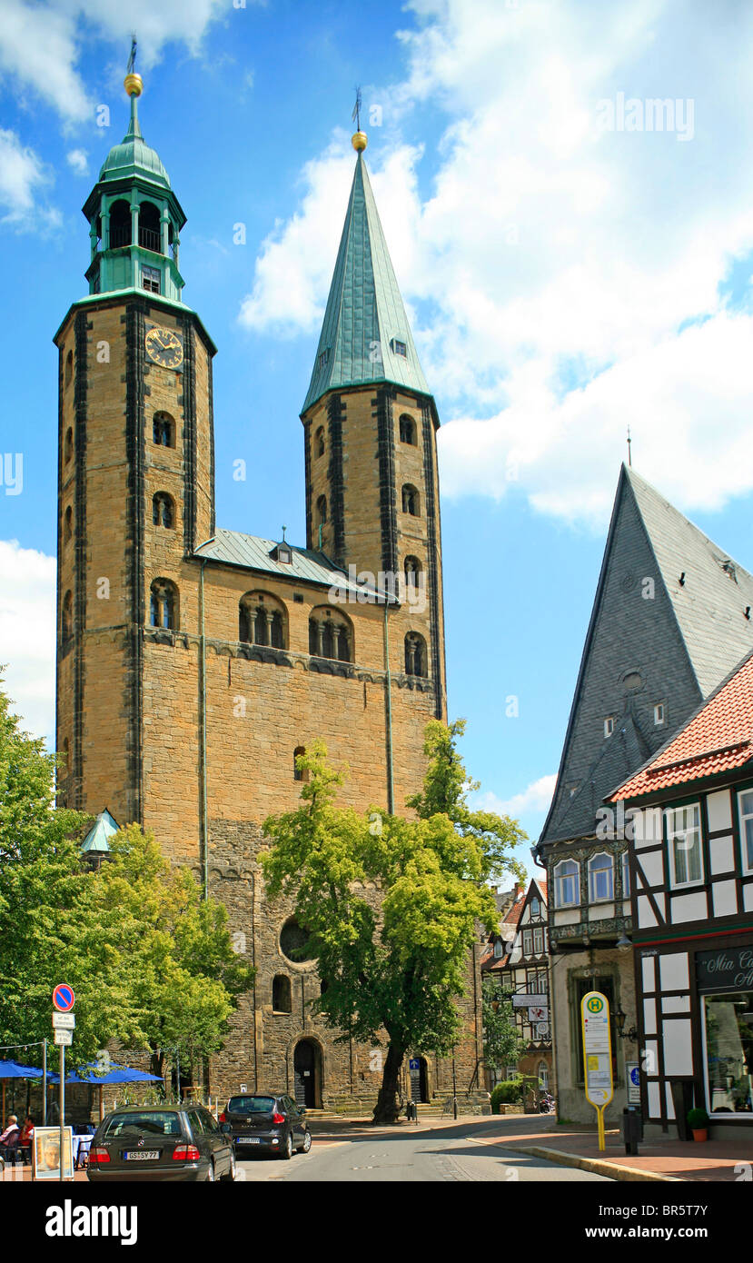 church St Cosmas and Damian in Goslar, Harz Mountains, Lower Saxony, Germany Stock Photo