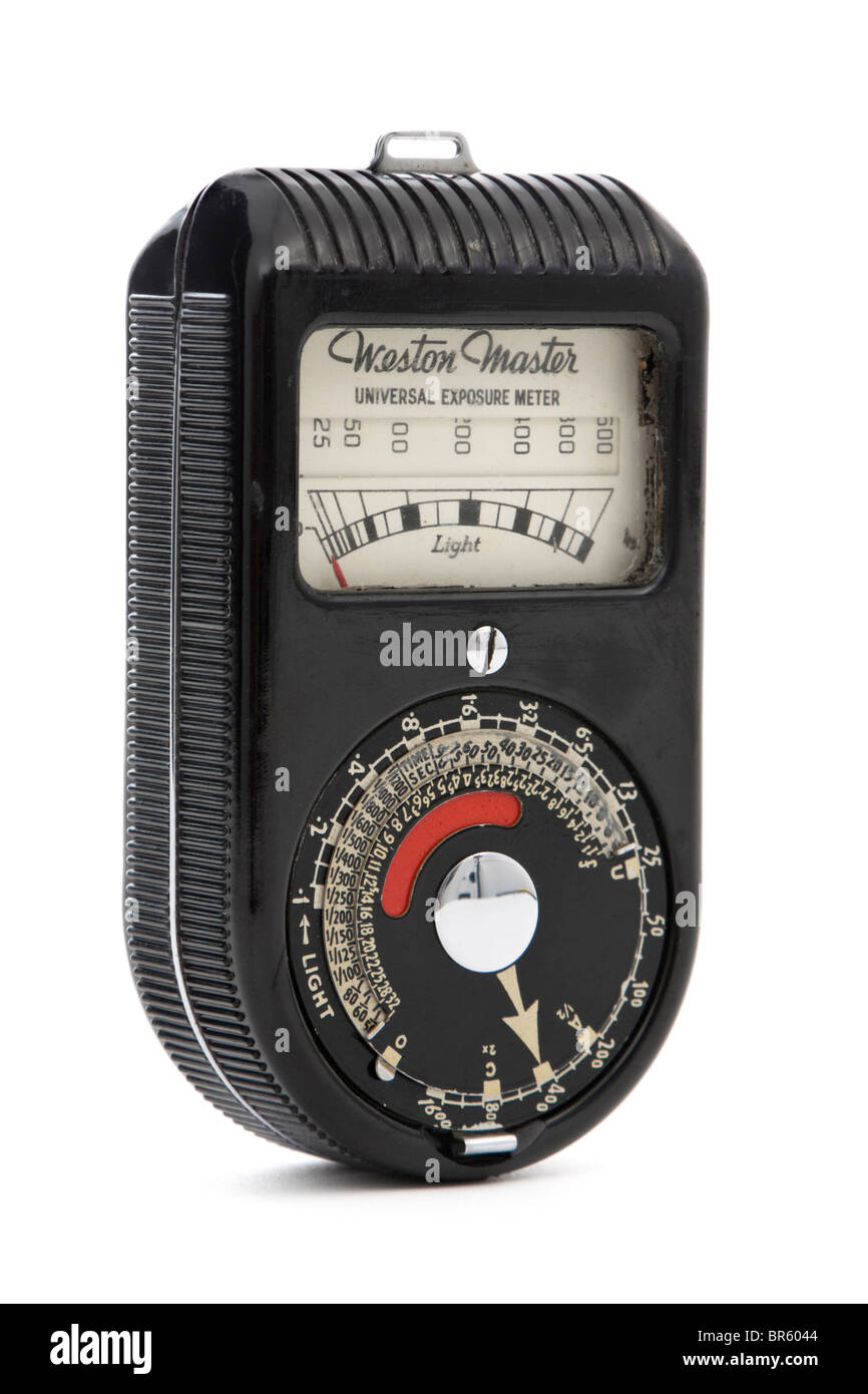 Vintage Weston Master S74/715 universal exposure meter - Stock Image