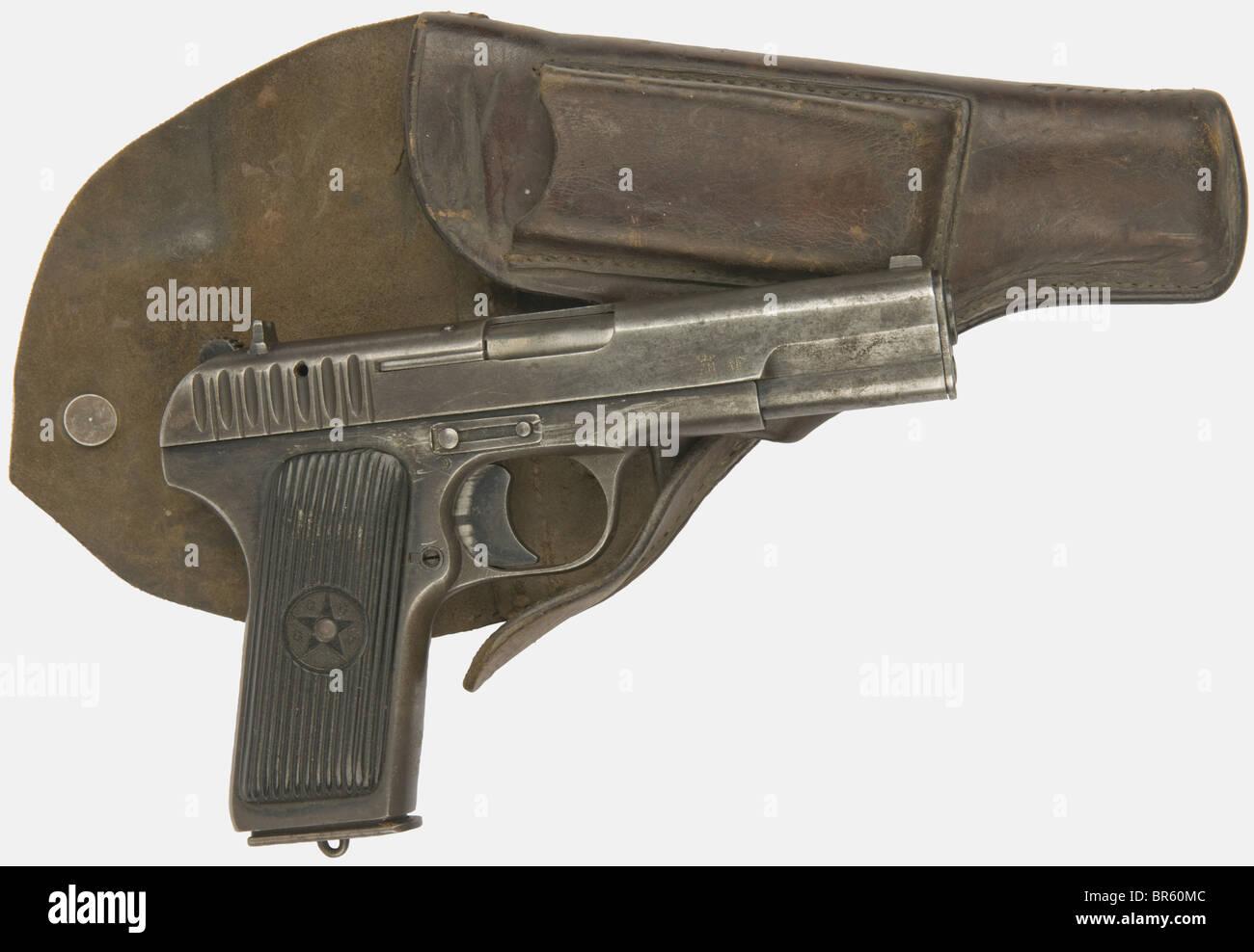 A Soviet Tokarev Pistol Tt 33 Calibre 7 62 Tokarev Serial Number
