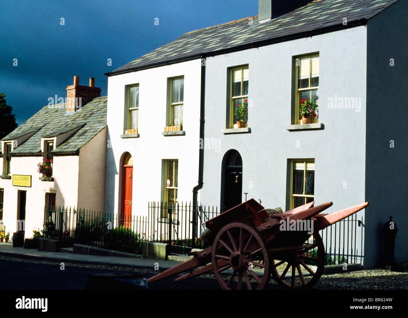 Bunratty, Co Clare, Ireland, Bunratty Folk Park - Stock Image