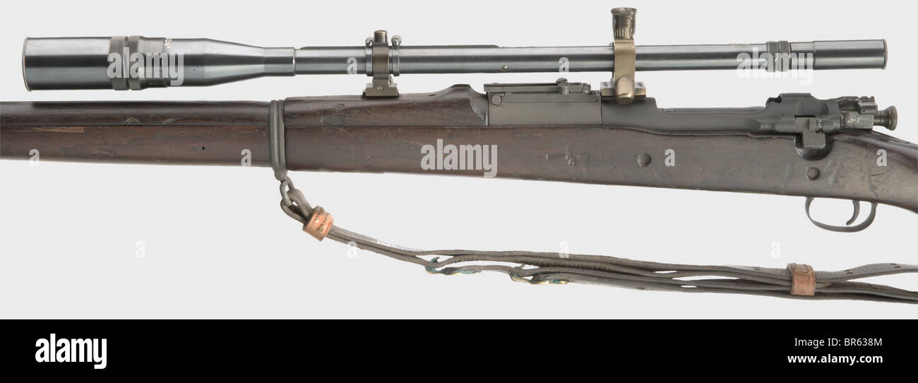 A Springfield model 1903 Marine Sniper Rifle with Unertl